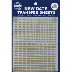 Whitman Album New Date Transfer Sheets