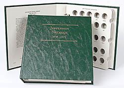 Littleton Album Jefferson Nickels 1938-1975