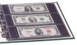 Littleton Album Small-Sized US and World Bank Note Portfolio