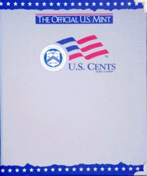 US Mint Album Cents Plain