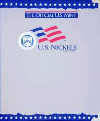 US Mint Album Nickels Plain