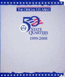 US Mint Album State Quarters P & D, 1999-2008