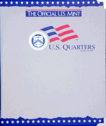 US Mint Album Quarters Plain