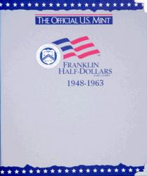 US Mint Album Franklin Half Dollars, 1948-1963