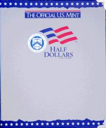 US Mint Album Half Dollars Plain