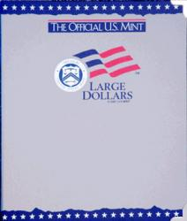 US Mint Album Large Dollars Plain