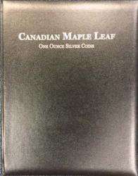 Book of Silver Canadian Maple Leaf Album
