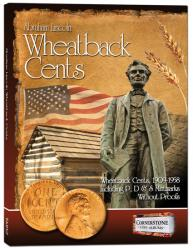 Cornerstone Album Lincoln Wheatback Cents -- 1909-1958 PDS