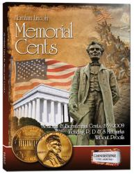Cornerstone Album Lincoln Memorial Cents -- 1959-2009 PDS