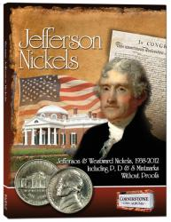 Cornerstone Album Jefferson Nickels -- 1938-2011 PDS