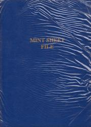 G&K Mint Sheet File -- 42 Pocket
