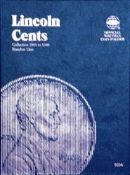 Whitman Folder 9004: Lincoln Cents No. 1, 1909-1940