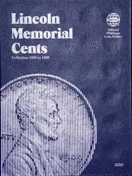 Whitman Folder 9000: Lincoln Memorial Cents No. 1, 1959-1998