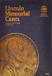 Whitman Folder 8196: Lincoln Memorial Cents No. 2, 1999-2008