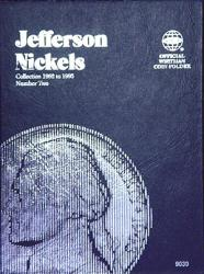 Whitman Folder 9039: Jefferson Nickels No. 2, 1962-1995