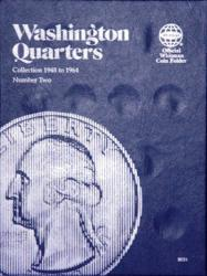 Whitman Folder 9031: Washington Quarters No. 2, 1948-1964
