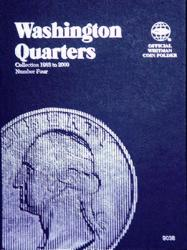 Whitman Folder 9038: Washington Quarters No. 4, 1988-1998