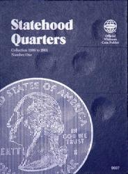 Whitman Folder 9697: State Quarters No. 1, 1999-2001