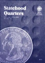 Whitman Folder 8111: State Quarters No. 2, 2002-2005