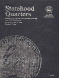Whitman Folder 8112: State Quarters No. 3, 2006-2009