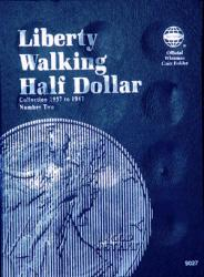 Whitman Folder 9027: Liberty Walking Half Dollars No. 2, 1937-1947