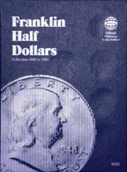 Whitman Folder 9032: Franklin Half Dollars, 1948-1963