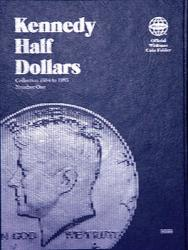 Whitman Folder 9699: Kennedy Half Dollars No. 1, 1964-1985