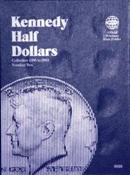 Whitman Folder 9698: Kennedy Half Dollars No. 2, 1986-2003