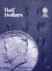 Whitman Folder 9045: Half Dollars Plain
