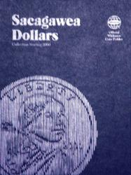 Whitman Folder 8060: Sacagawea Dollars No. 1, 2000-Date