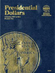 Whitman Folder 2181: Presidential Dollars No. 1, 2007-2011