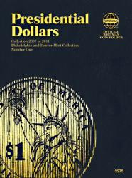 Whitman Folder 2275: Presidential Dollars P&D No. 1, 2007-2011