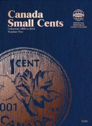 Whitman Folder 4049: Canadian Small Cents Vol 2, 1989-2012