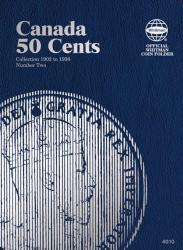 Whitman Folder 4010: Canadian 50 Cents Vol 2, 1902-1936