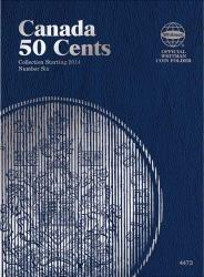 Whitman Folder 4473: Canadian 50 Cents Vol 6,  Starting 2014