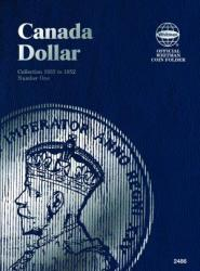 Whitman Folder 2486: Canadian Dollar Vol 1, 1935-1952