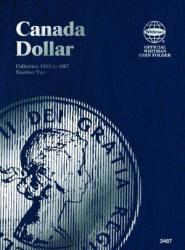 Whitman Folder 2487: Canadian Dollar Vol 2, 1953-1967