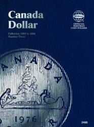 Whitman Folder 2488: Canadian Dollar Vol 3, 1968-1984