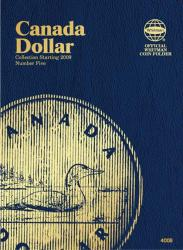 Whitman Folder 4008: Canadian Dollar Vol 5, Starting 2009