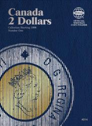 Whitman Folder 4014: Canadian $2, Vol 1, Starting 1996