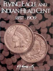 HE Harris Folder 2671: Flying Eagle/Indian Cents, 1857-1909