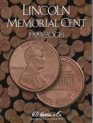 HE Harris Folder 2705: Lincoln Memorial Cents No. 2, 1999-Date
