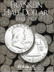 HE Harris Folder 2695: Franklin Half Dollars, 1948-1963