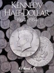 HE Harris Folder 2696: Kennedy Half Dollars No. 1, 1964-1984