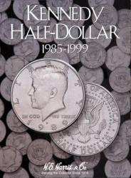 HE Harris Folder 2697: Kennedy Half Dollars No. 2, 1985-1999