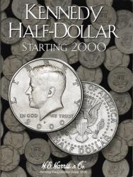 HE Harris Folder 2942: Kennedy Half Dollars No. 3, 2000-Date