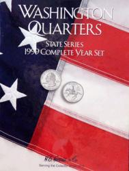 HE Harris Folder 2582: Complete Year Set Quarters, 1999