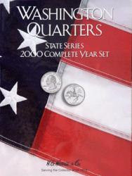 HE Harris Folder 2583: Complete Year Set Quarters, 2000