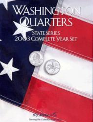 HE Harris Folder 2586: Complete Year Set Quarters, 2003