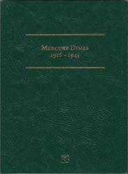 Littleton Folder LCF20: Mercury Dimes, 1916-1945